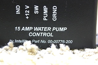USED RV PARTS INTELLITEC 15AMP WATER PUMP CONTROL 00-00776-200 FOR SALE