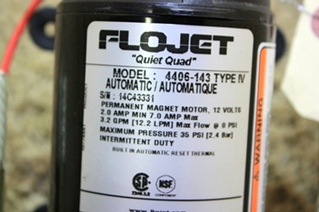 USED RV PARTS FLOJET