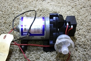 USED RV SHURFLO DIAPHRAGM WATER PUMP 2088-422-444 FOR SALE