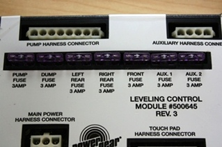 POWER GEAR LEVELING CONTROL MODULE 500645 FOR SALE