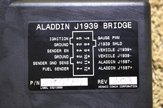 USED ALADDIN J1939 BRIDGE MOTORHOME PARTS FOR SALE