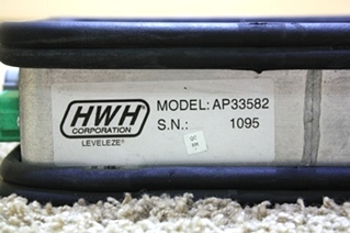 USED RV PARTS HWH LEVELEZE MODEL AP33582 FOR SALE