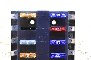 USED BUSS ATC FUSE PANEL 15600-12-20 RV PARTS FOR SALE
