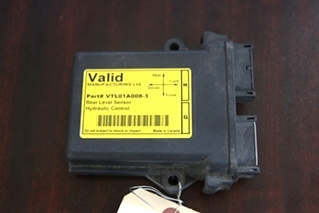 USED VALID MANUFACTURING REAR LEVEL SENSOR HYDRAULIC CONTROL PN: VTL01A008-3