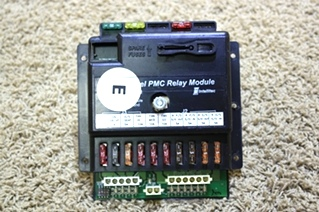 USED INTELLITEC 10 CHANNEL PMC RELAY MODULE 00-00838-410 RV PARTS FOR SALE