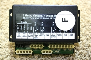USED 6 RELAY OUTPUT / 4 INPUT MODULE 00-00917-416 MOTORHOME PARTS FOR SALE