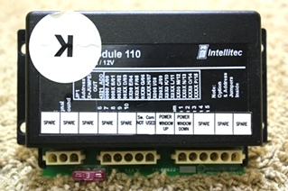 USED MOTORHOME INTELLITEC PMC I/O MODULE 110 00-00622-110 FOR SALE