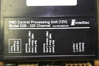USED RV PARTS INTELLITEC PMC CENTRAL PROCESSING UNIT 00-00800-022 FOR SALE