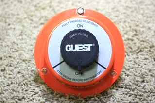USED RV GUEST BATTERY SWITCH MODEL 2102 MOTORHOME PARTS FOR SALE