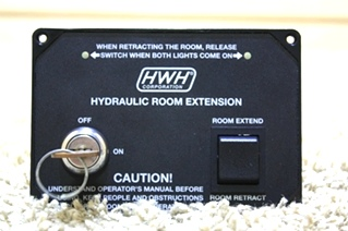 USED HWH HYDRAULIC ROOM EXTENSION WITH KEY AP28642 FOR SALE