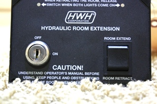 USED HWH MOTORHOME PARTS HYDRAULIC ROOM EXTENSION FOR SALE
