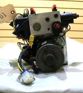 USED RV PARTS EQUALIZER HYDRAULIC PUMP S103T-4989 FOR SALE