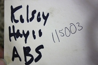 USED KELSEY HAYES ABS CONTROL BOARD 6U94-2C346-AA FOR SALE