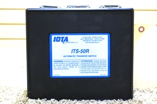 USED IOTA AUTOMATIC TRANSFER SWITCH ITS-50R MOTORHOME PARTS FOR SALE