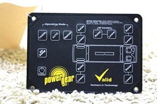 USED POWER GEAR VALID LEVELING TOUCH PAD VTL02A008-3 FOR SALE
