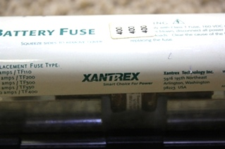 USED RV XANTREX BATTERY FUSE PN: 270-00-69-01-01 MOTORHOME PARTS FOR SALE