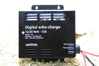 USED RV PARTS XANTREX DIGITAL ECHO-CHARGE 82-0123-01 FOR SALE