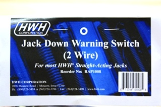 HWH JACK DOWN WARNING SWITCH RAP1008 FOR SALE