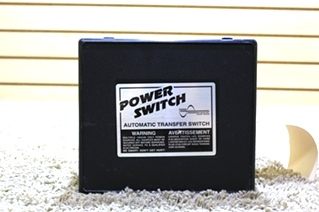 USED RV POWER SWITCH AUTOMATIC TRANSFER SWITCH PS 250 MOTORHOME PARTS FOR SALE