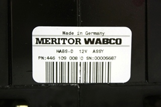 USED RV MERITOR WABCO ABS CONTROL BOARD 4461090080 MOTORHOME PARTS FOR SALE *SOLD*