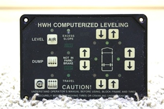 USED HWH LEVELING CONTROL TOUCH PAD AP8444 RV PARTS FOR SALE