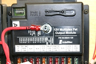 USED RV INTELLITEC FUSE PANEL FROM HOLIDAY RAMBLER IMPERIAL