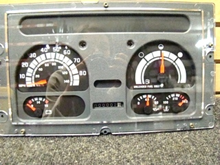 USED GM CLUSTER PANE WORKHORSE FOR 94'-97' SIZE: 8 1/2