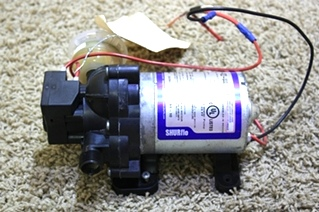 USED MOTORHOME SHIRFLO WATER PUMP 2088-422-444 RV PARTS FOR SALE