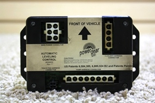 USED POWER GEAR AUTOMATIC LEVELING CONTROL 500630 RV PARTS FOR SALE *SOLD*