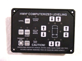USED HWH AUTOMATIC LEVELING TOUCH PAD CONTROL P/N: AP22703  **OUT OF STOCK**