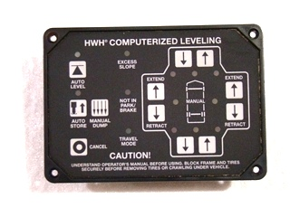 USED HWH AUTOMATIC LEVELING TOUCH PAD CONTROL P/N: AP34884 *OUT OF STOCK*