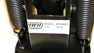 USED HWH FOLD UP LEVELING JACKS P/N: AP40857