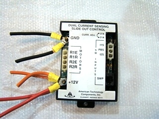USED AMERICAN TECHNOLOGY COMPONENTS SLIDE-OUT CONTROL - DUAL CURRENT