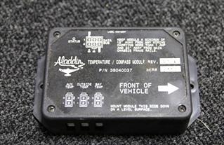 USED ALADDIN RV TEMPERATURE/COMPASS MODULE P/N: 38040037