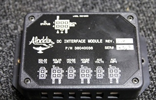 USED ALADDIN RV/MOTORHOME DC INTERFACE MODULE P/N: 38040036
