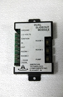 USED AMERICAN TECHNOLOGY COMPONENTS SLIDE-OUT CONTROL. P/N: AT-RLM-009