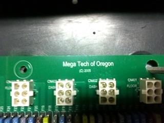 Used Monaco Battery Control Board P/N: 16602962