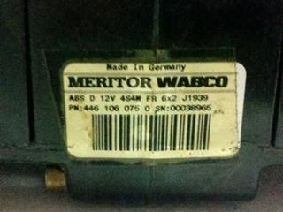 USED ABS MODULE MERITOR 4461060750