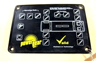 USED POWER GEAR LEVELING TOUCH PAD P/N: 140-1206 *OUT OF STOCK*