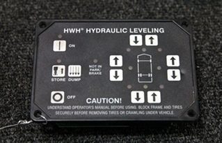 USED HWH CORPORATION AUTO LEVELING TOUCH PAD BOX P/N: AP31351
