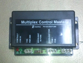 USED INTELLITEC MULTIPLEX CONTROL MASTER 00-00837-000
