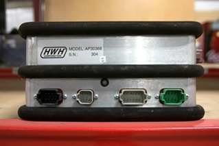 USED RV/MOTORHOME HWH CORP. LEVELEZE CLEAR CONTROL BOX MODEL: AP30368 SN: 304