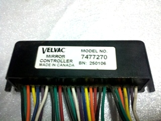 USED VELVAC MIRROR CONTROLLER PN 7477270 FOR SALE