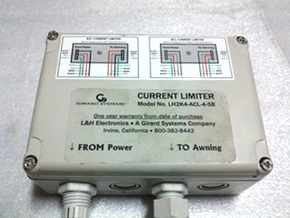 USED GIRARD CURRENT LIMITER MODEL NO LH2K4-ACL-4-5B FOR SALE