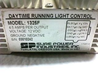 USED RV/MOTORHOME DAYTIME RUNNING LIGHT CONTROL MODEL 1325F