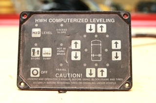 USED HWH. CORPORATION COMPUTERIZED LEVELING TOUCH PAD MODEL: AP1088 W/ HARNESS