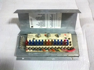 USED PARALLAX 12V FUSE PANEL P/N 91507042 FOR SALE