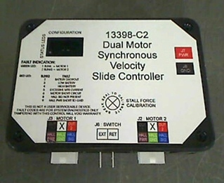 USED RV/MOTORHOME DUAL MOTOR SYNCHRONOUS VELOCITY SLIDE CONTROLLER MODEL: 13398-C2 *OUT OF STOCK*