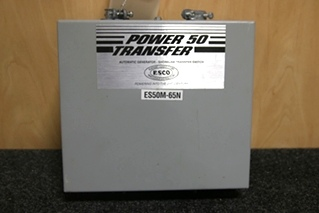 USED RV/MOTORHOME AUTOMATIC TRANSFER SWITCH MODEL: ES50M-65N