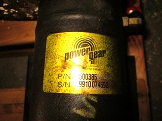 USED POWER GEAR LEVELING JACK P/N 500385 FOR SALE